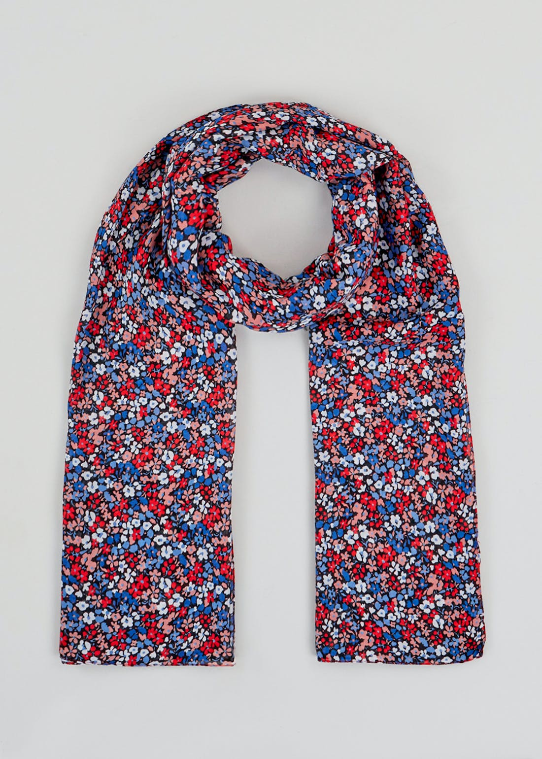 Floral Woven Scarf