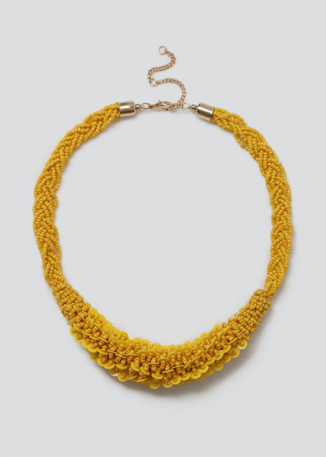 Sequin Beaded Necklace