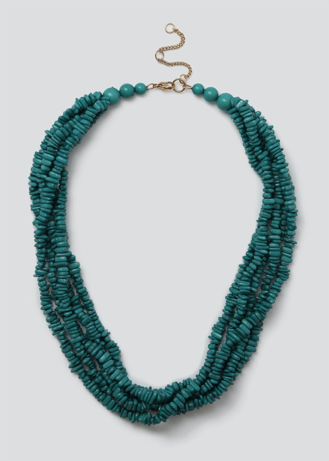 Chippings Multi Row Necklace