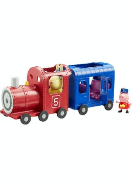 Peppa Pig Miss Rabbit's Train and Carriage Set (38cm x 15cm x 12cm)