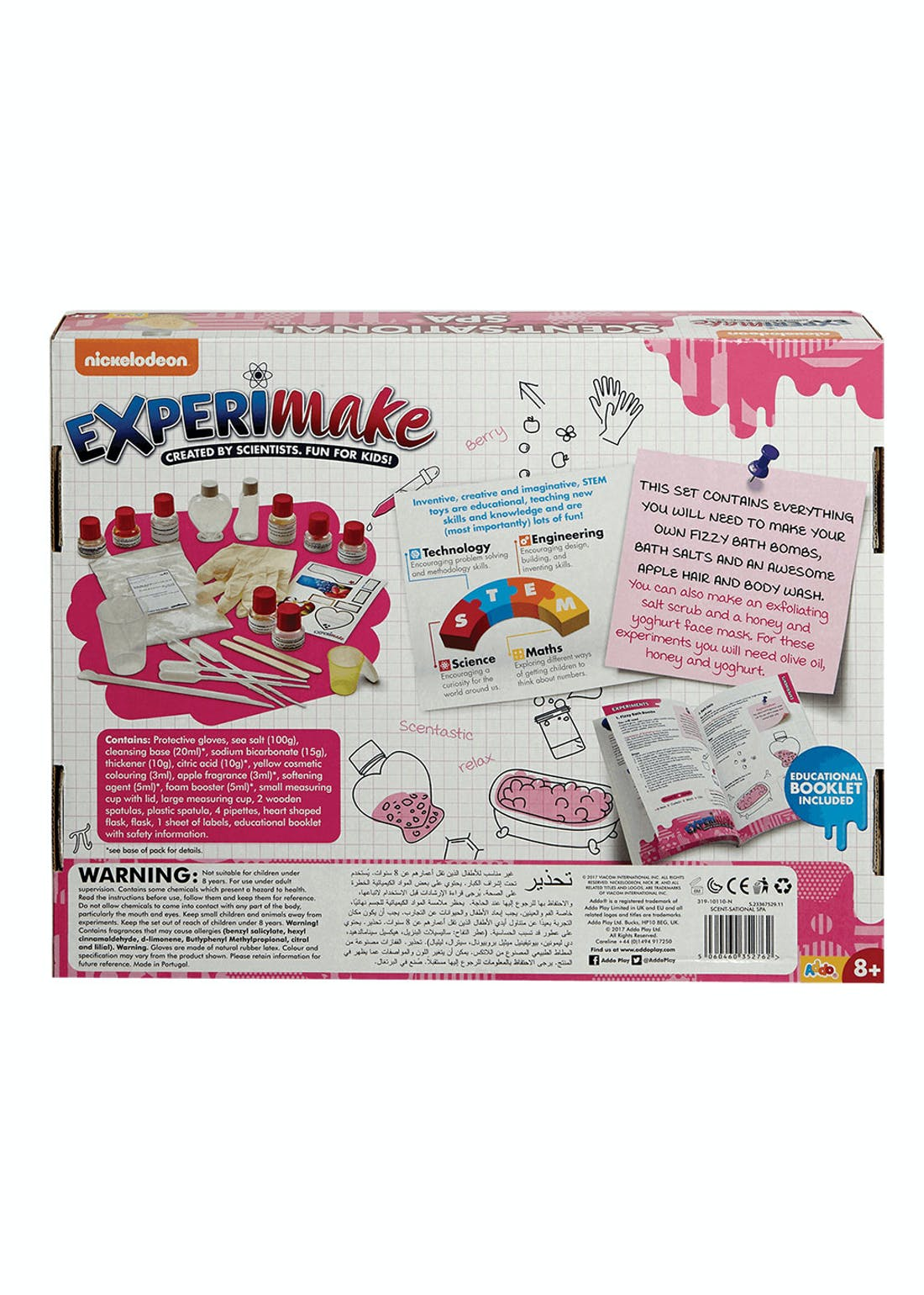 Nickelodeon Experimake Scent-sational Spa (38cm x 30cm x 6cm)
