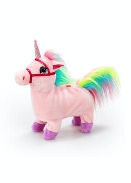 Pitter Patter Pets Walking Unicorn (25cm x 25cm x 15cm)