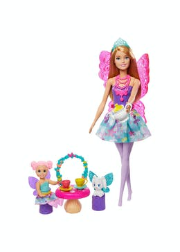 Barbie Dreamtopia Tea Party Doll Set (32.5cm x 23cm x 6cm)
