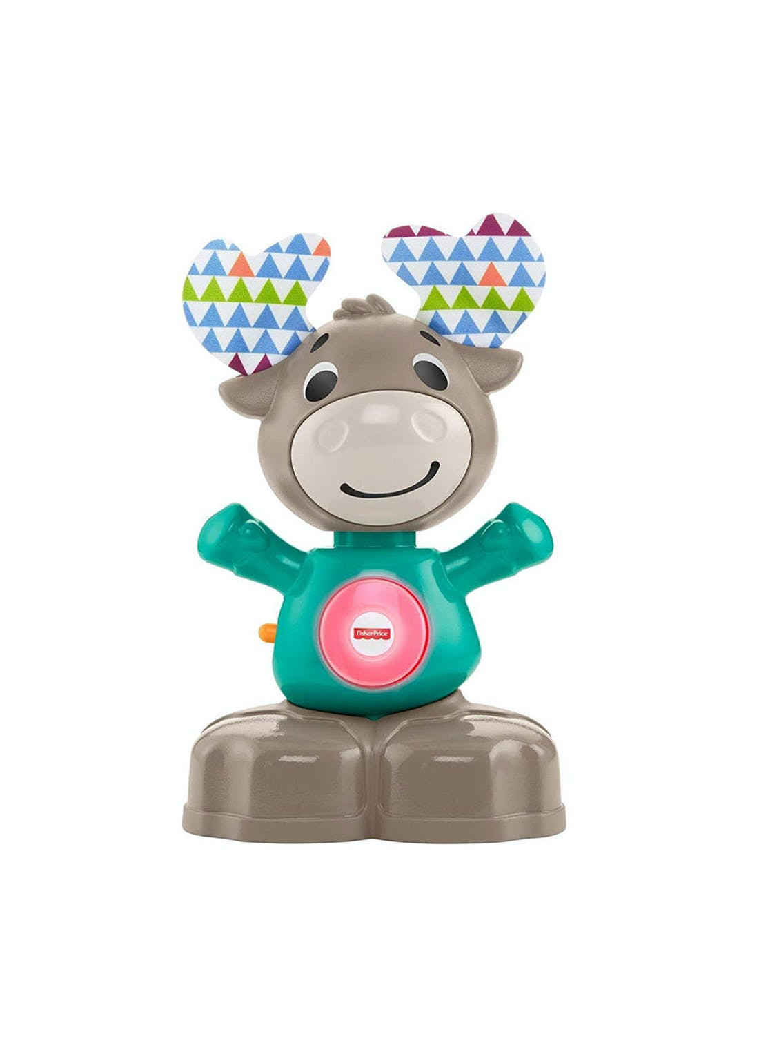 Fisher-Price Linkimals Musical Moose (20cm x 12cm x 9cm)