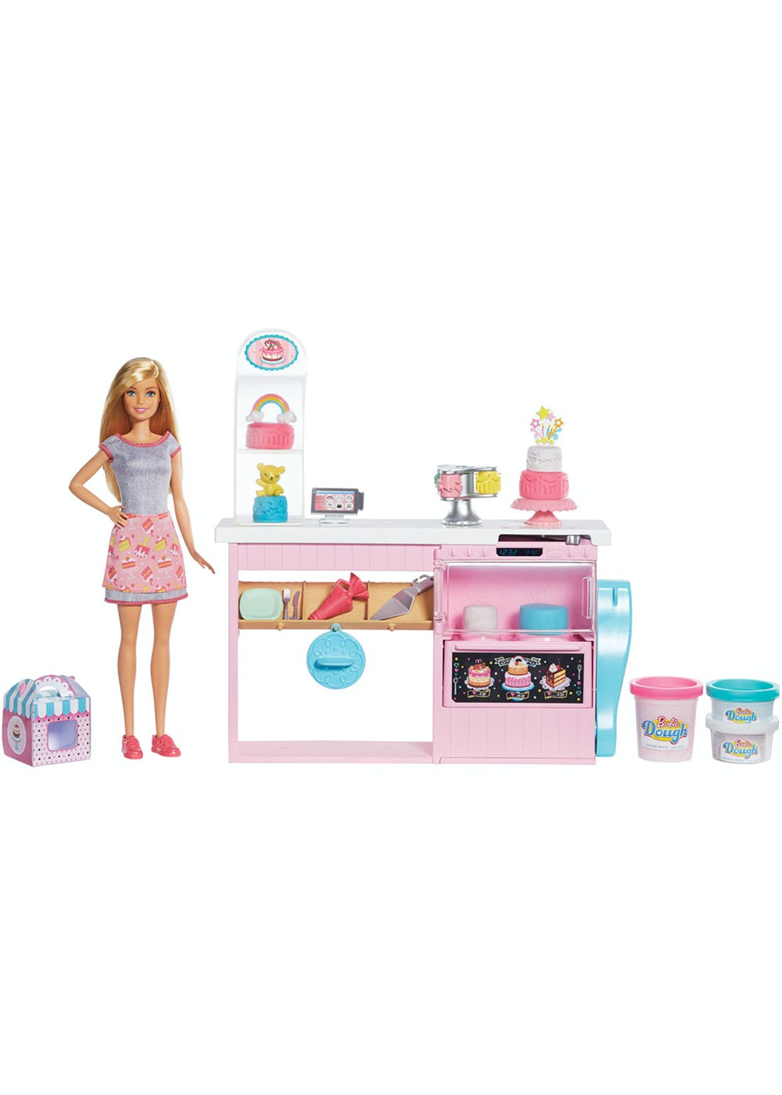 Barbie You Can Be Anything Cake Decorating Play Set (39.5cm x 32.5cm x 7.5cm)