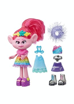 Trolls World Tour Fashion Celebration Poppy Doll (28cm x 25.5cm x 6cm)