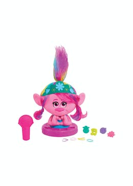 Trolls World Tour Poppy Styling Head (30.5cm x 25.5cm x 15.5cm)