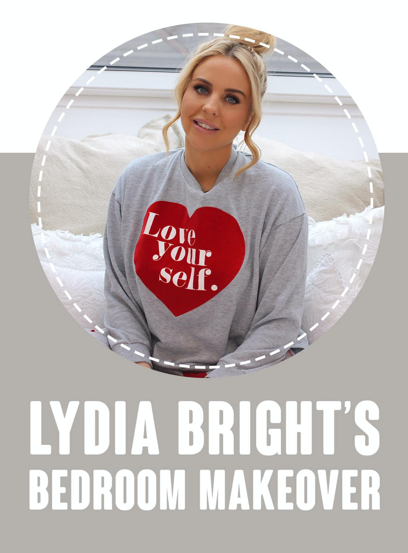 Lydia Bright's Bedroom Makeover