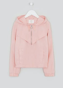 Girls Candy Couture Pink Windbreaker Jacket (9-16yrs)