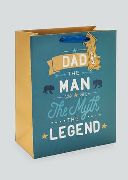 Father's Day Gift Bag (33cm x 26.5cm x 14cm)