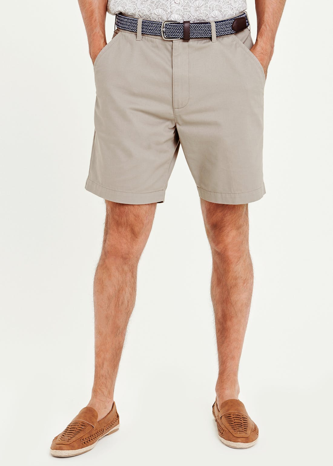 Lincoln Belted Skipper Shorts