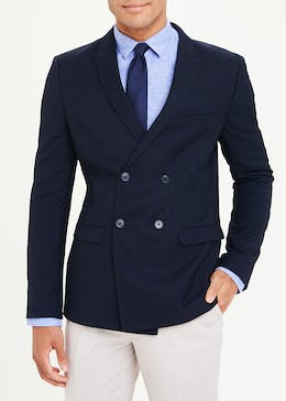 Taylor & Wright Murray Double Breasted Skinny Fit Suit Jacket
