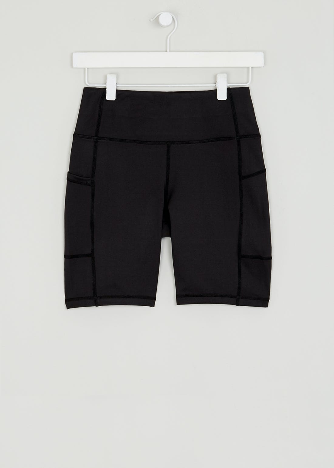 Souluxe Black Cycling Shorts