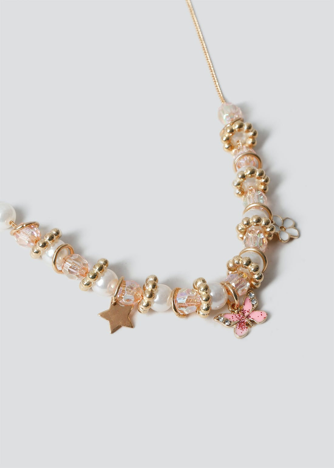 Girls Charm Necklace