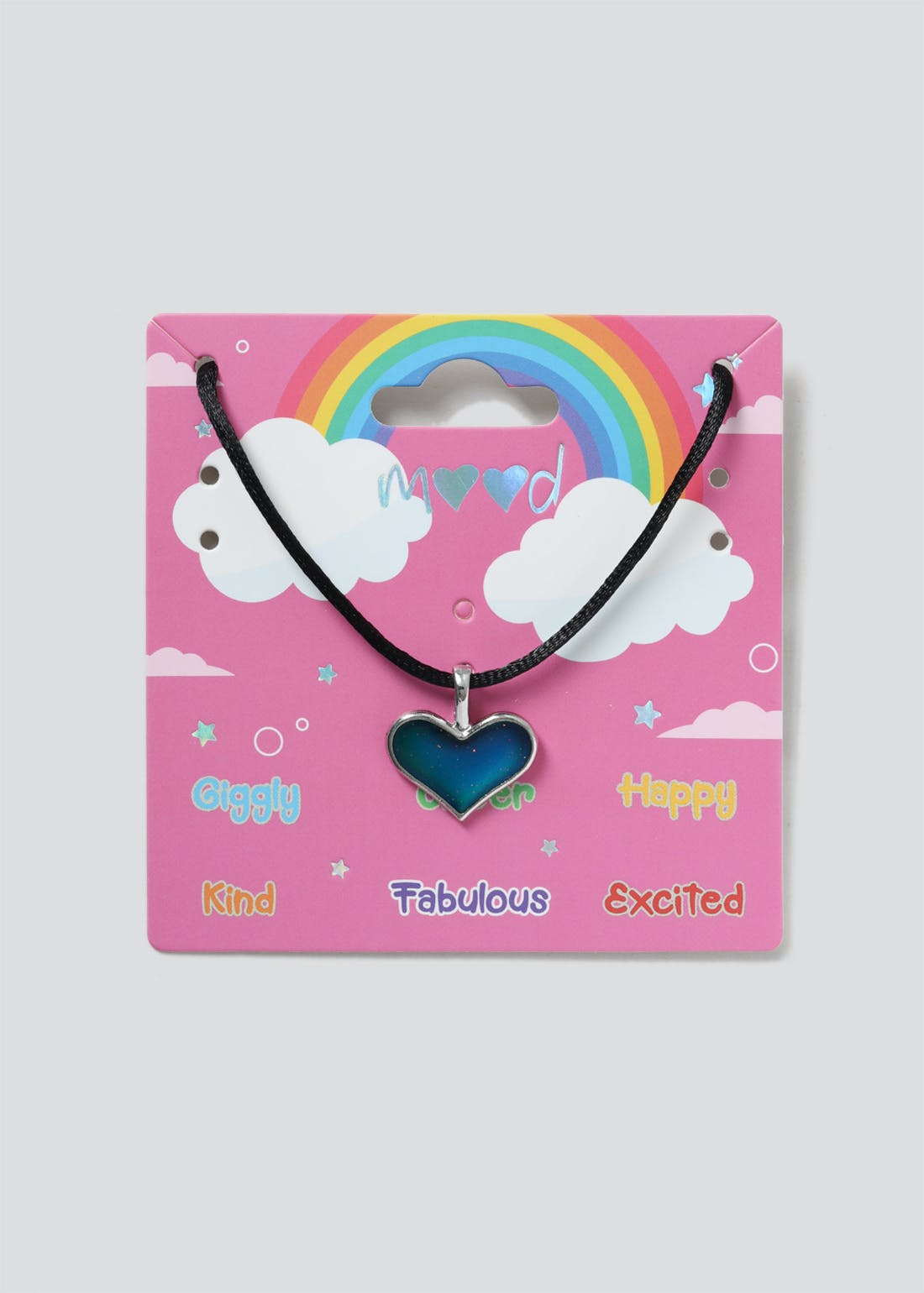 Girls Mood Heart Necklace
