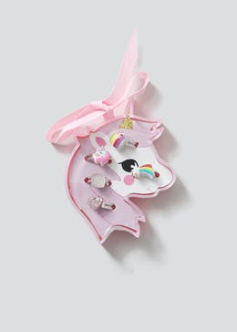 Girls Unicorn Ring Gift Box