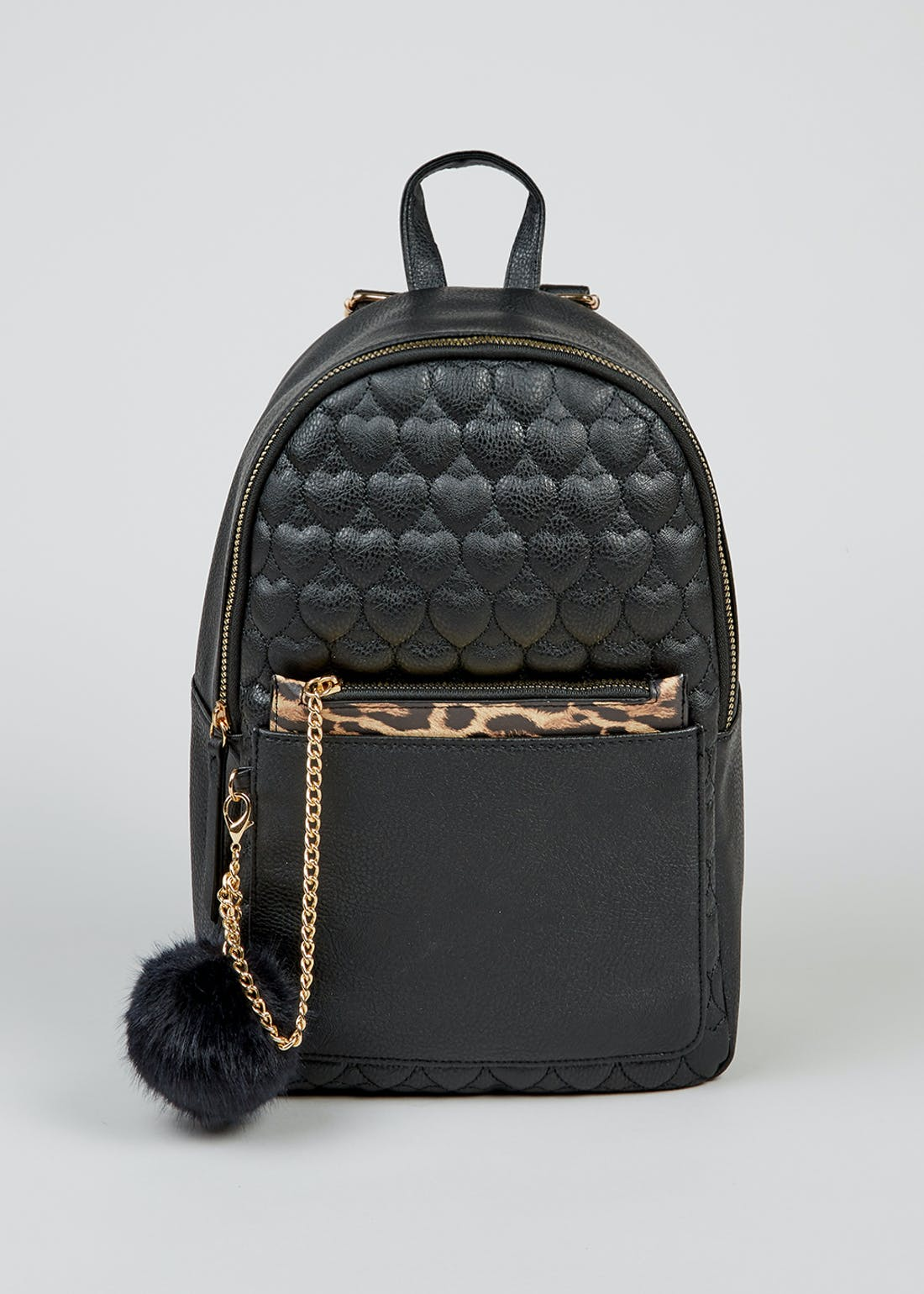 Kids Quilted Heart School Backpack