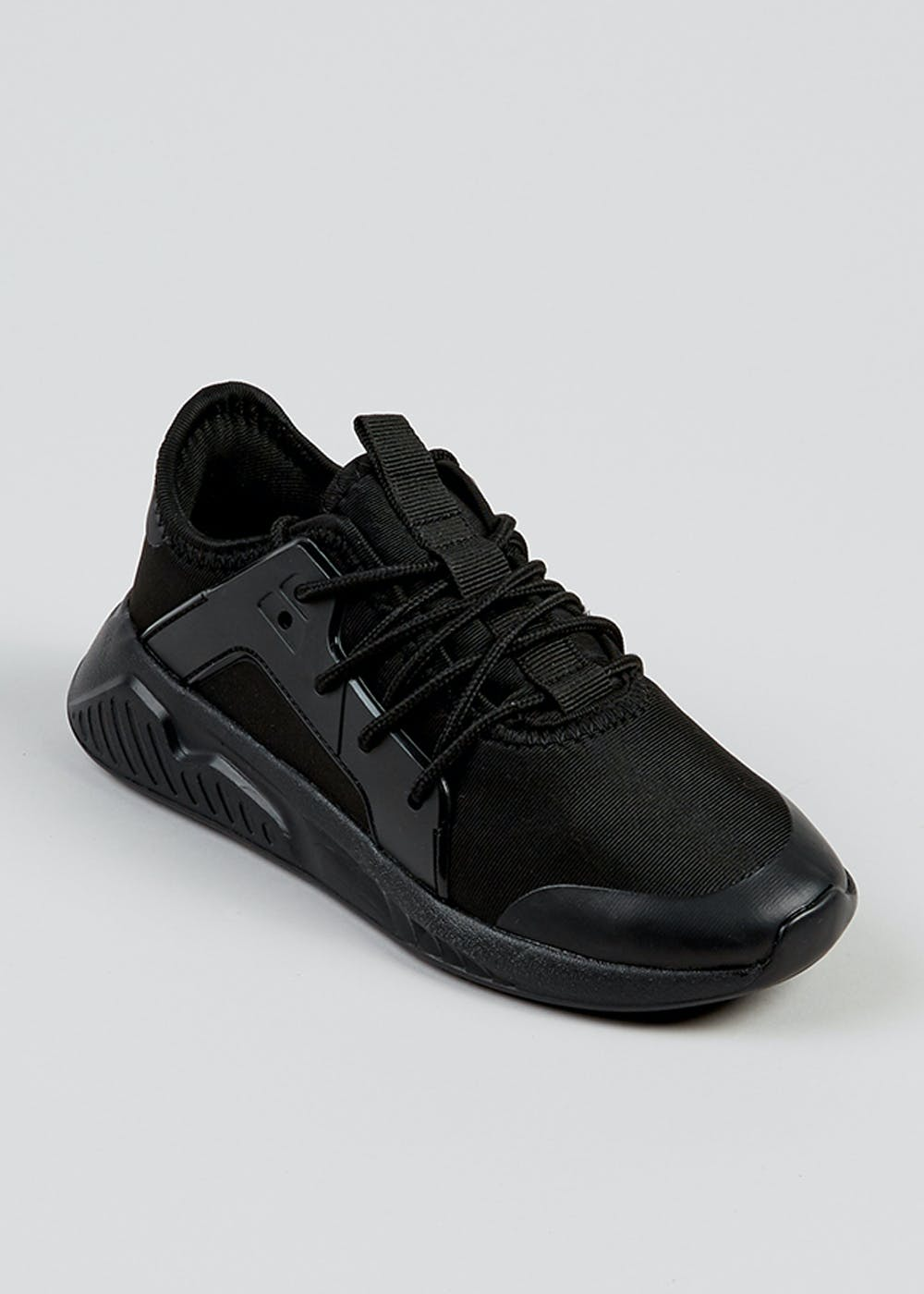 Boys Trainers - Slip on, lace up