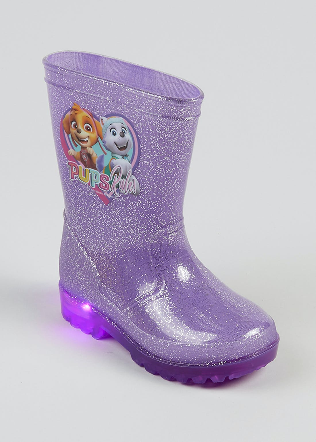 Kids Paw Patrol Light Up Wellies (Younger 4-12)