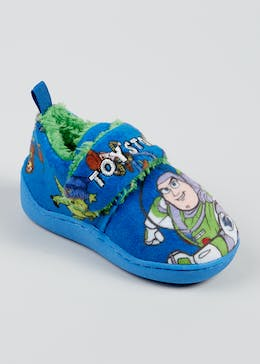 Kids Blue Disney Toy Story Slippers (Younger 4-12)