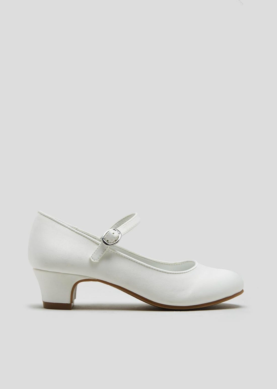 Girls White Occasion Shoes (Younger 10-Older 5)