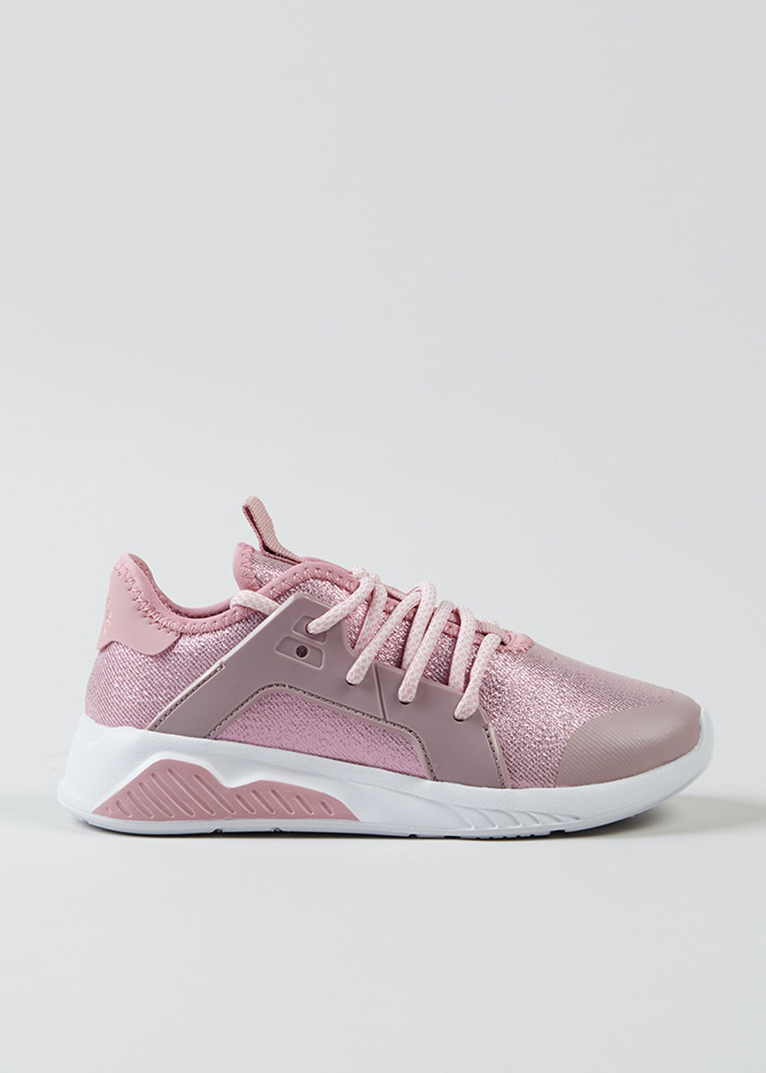 Girls Pink Lightweight Trainers (Younger 10-Older 5)