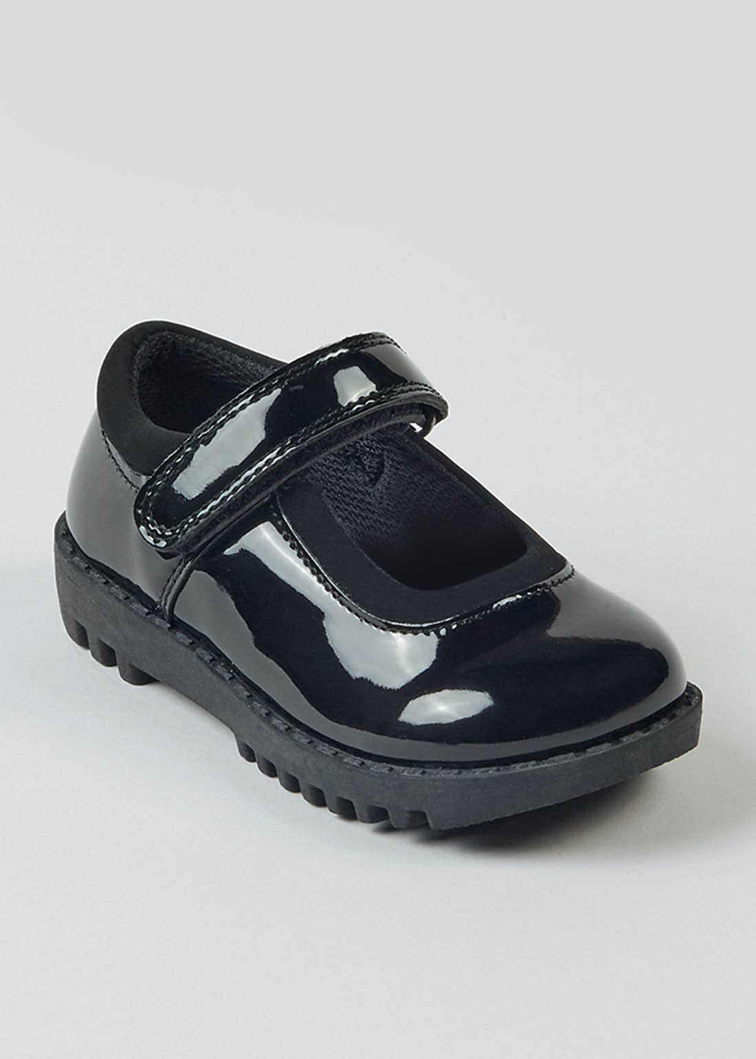 Girls Black Patent School Shoes (Younger 6-12)