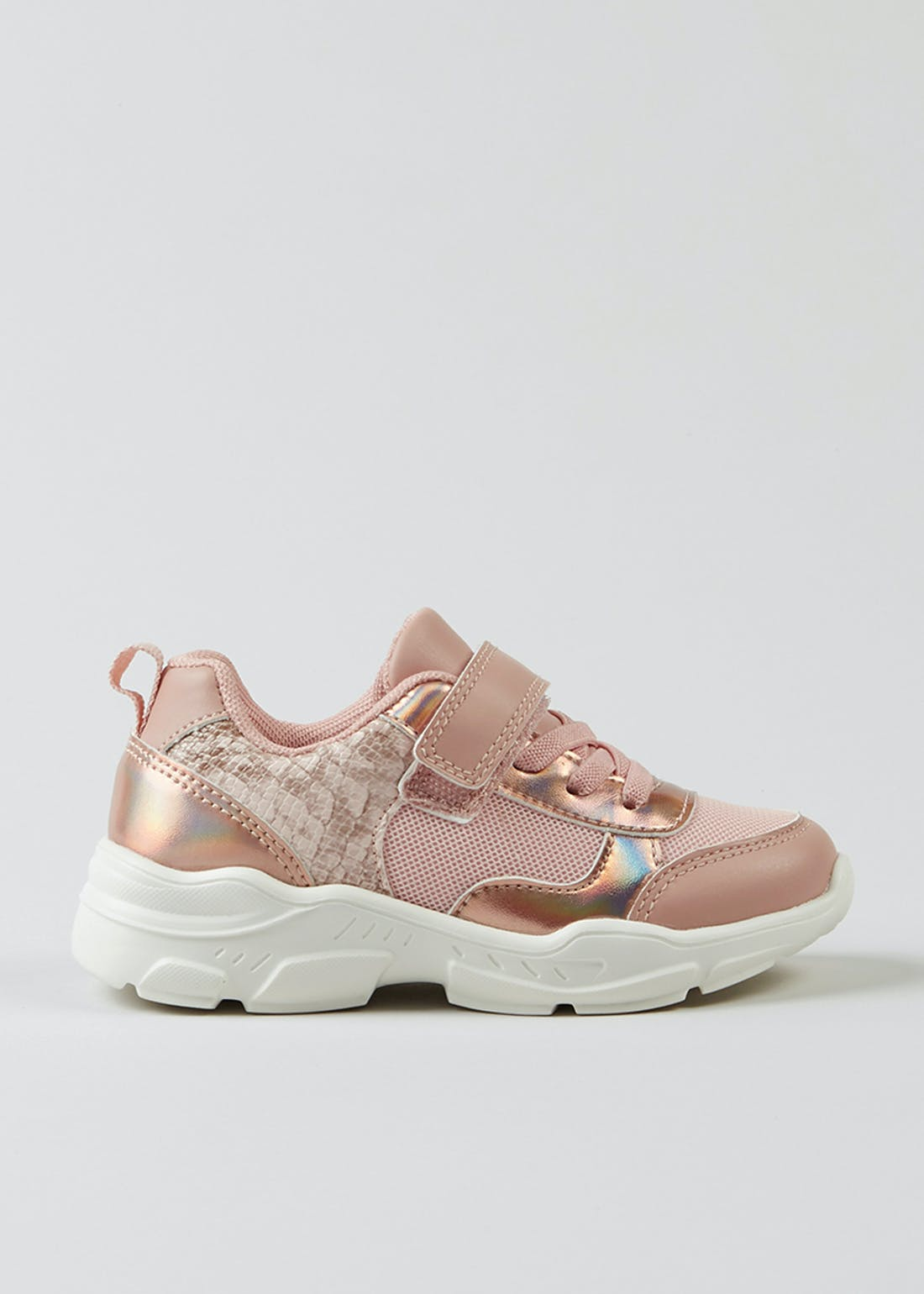 Girls Pink Trainers (Younger 4-12)