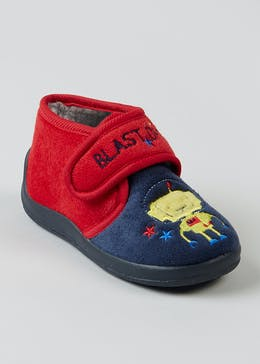 Kids Space Robot Slippers (Younger 4-12)