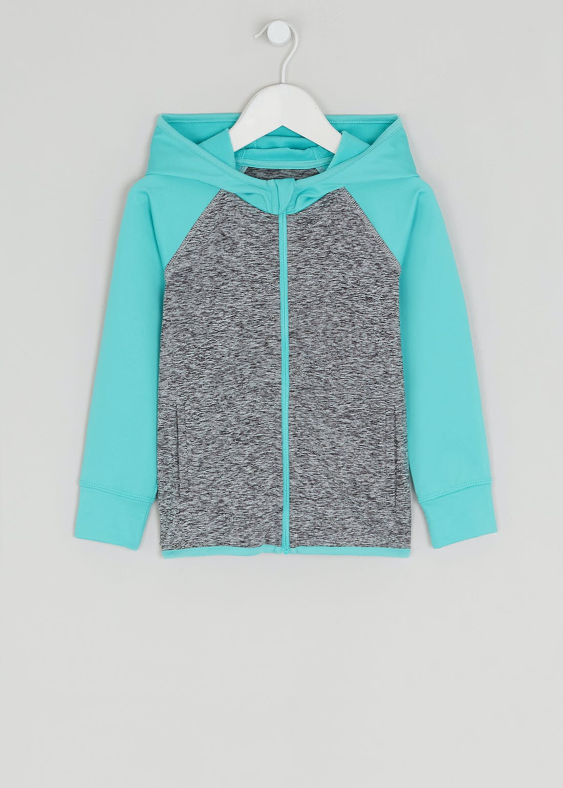 Girls Souluxe Colour Block Sports Hoodie (4-13yrs)