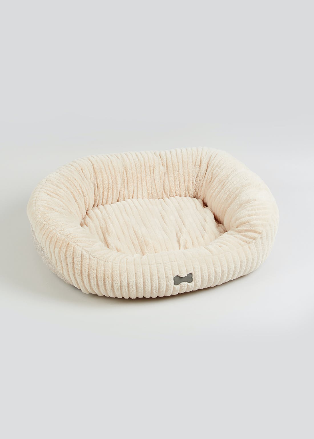 Large Faux Fur Dog Bed (80cm x 70cm x 20cm)