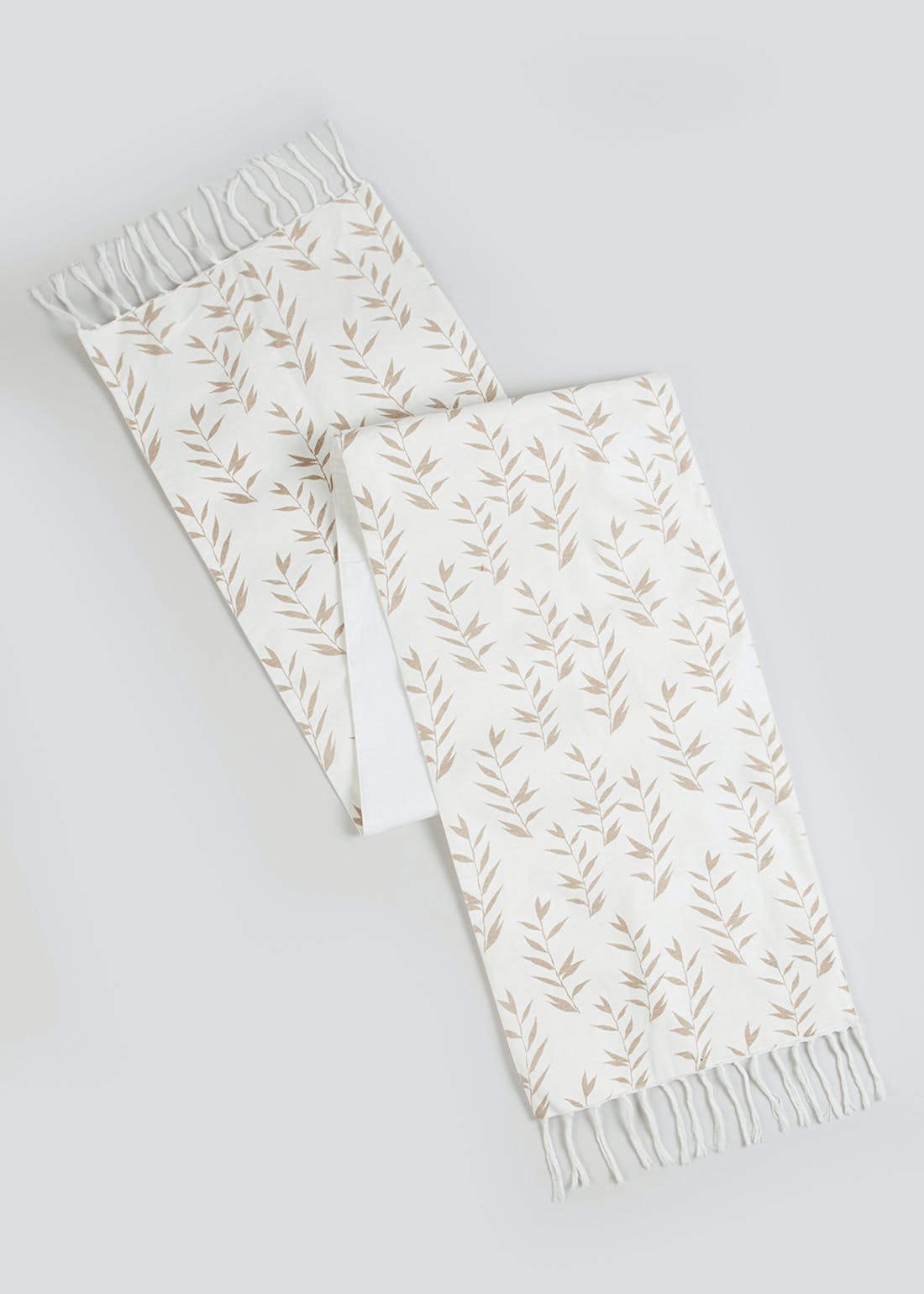 Leaf Print Table Runner (200cm x 40cm)
