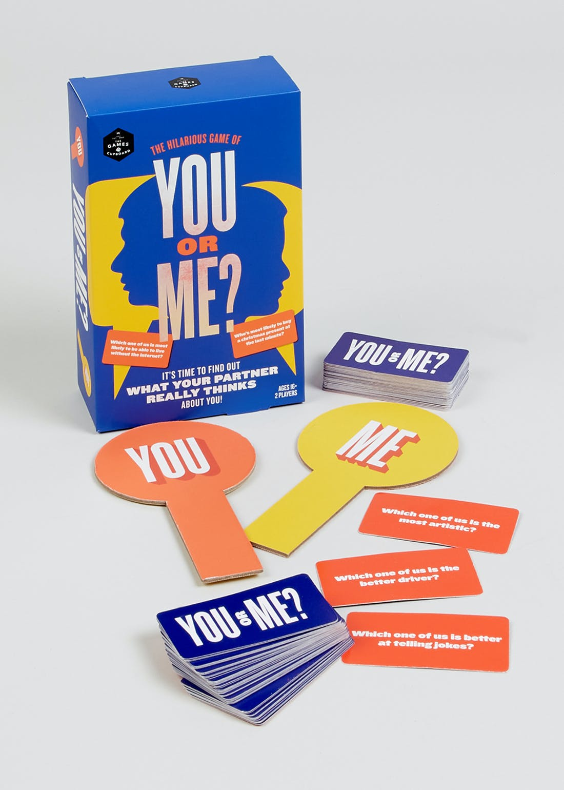 You or Me Game (18cm x 12cm x 6cm)