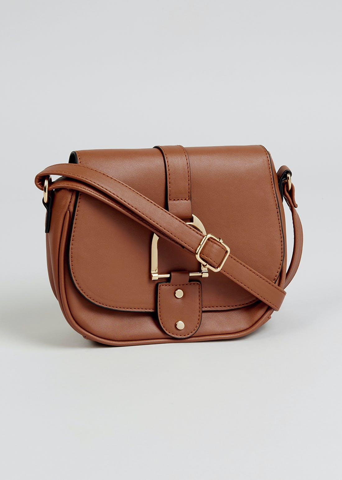 D Buckle Cross-Body Bag