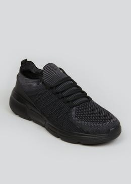 Souluxe Black Trainers
