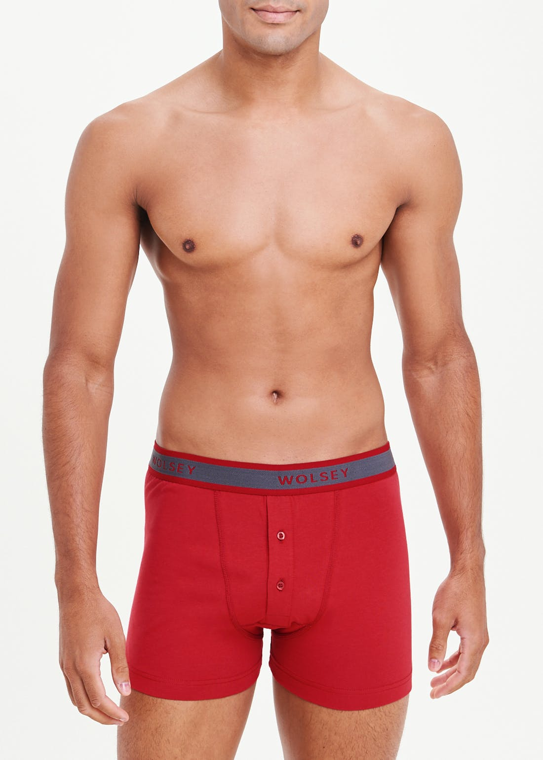 2 Pack Wolsey Button Front Boxers