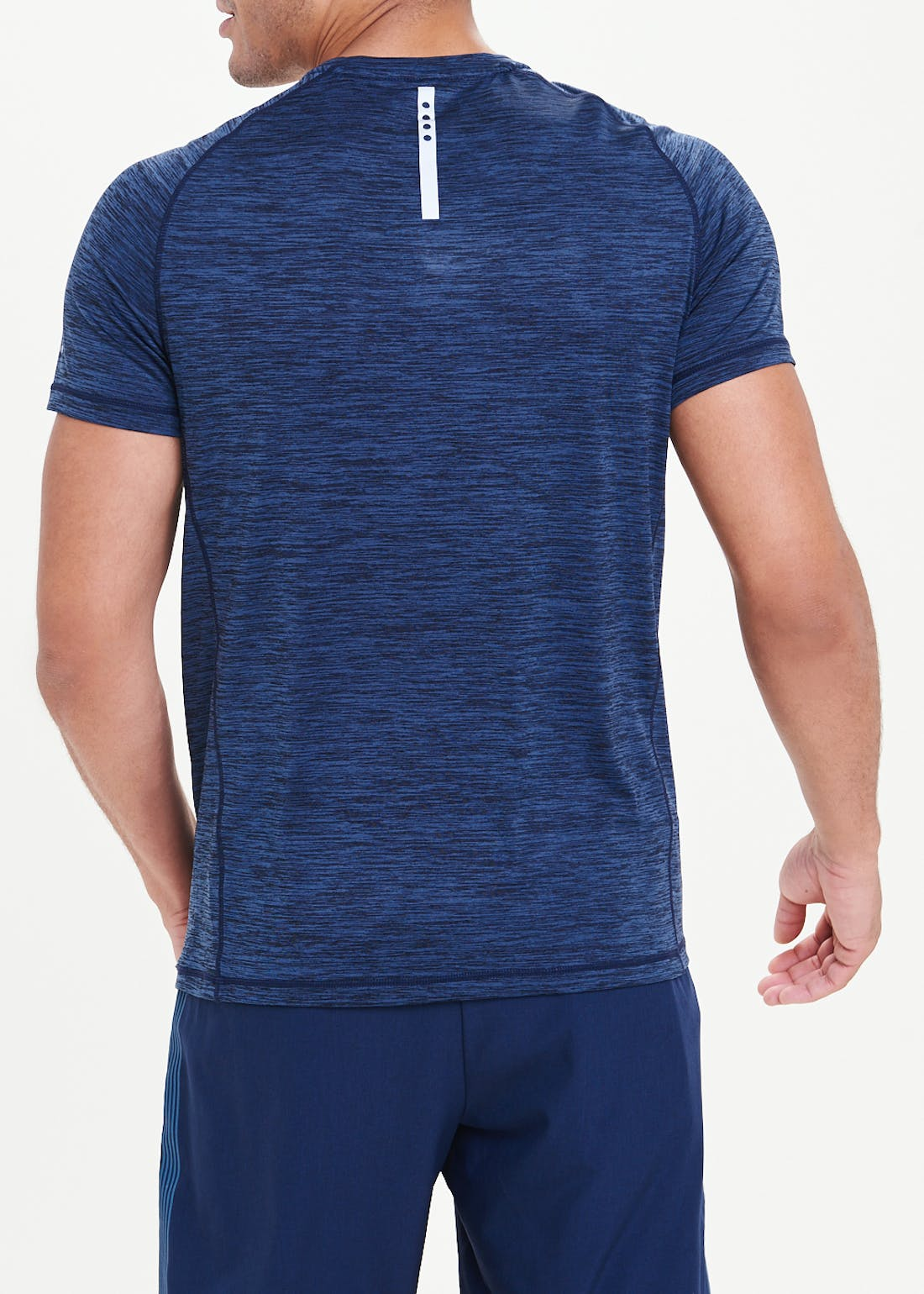 Souluxe Navy Basic Gym Top