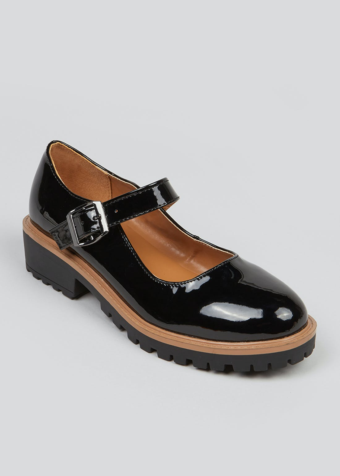 Black Patent Mary Jane Shoes