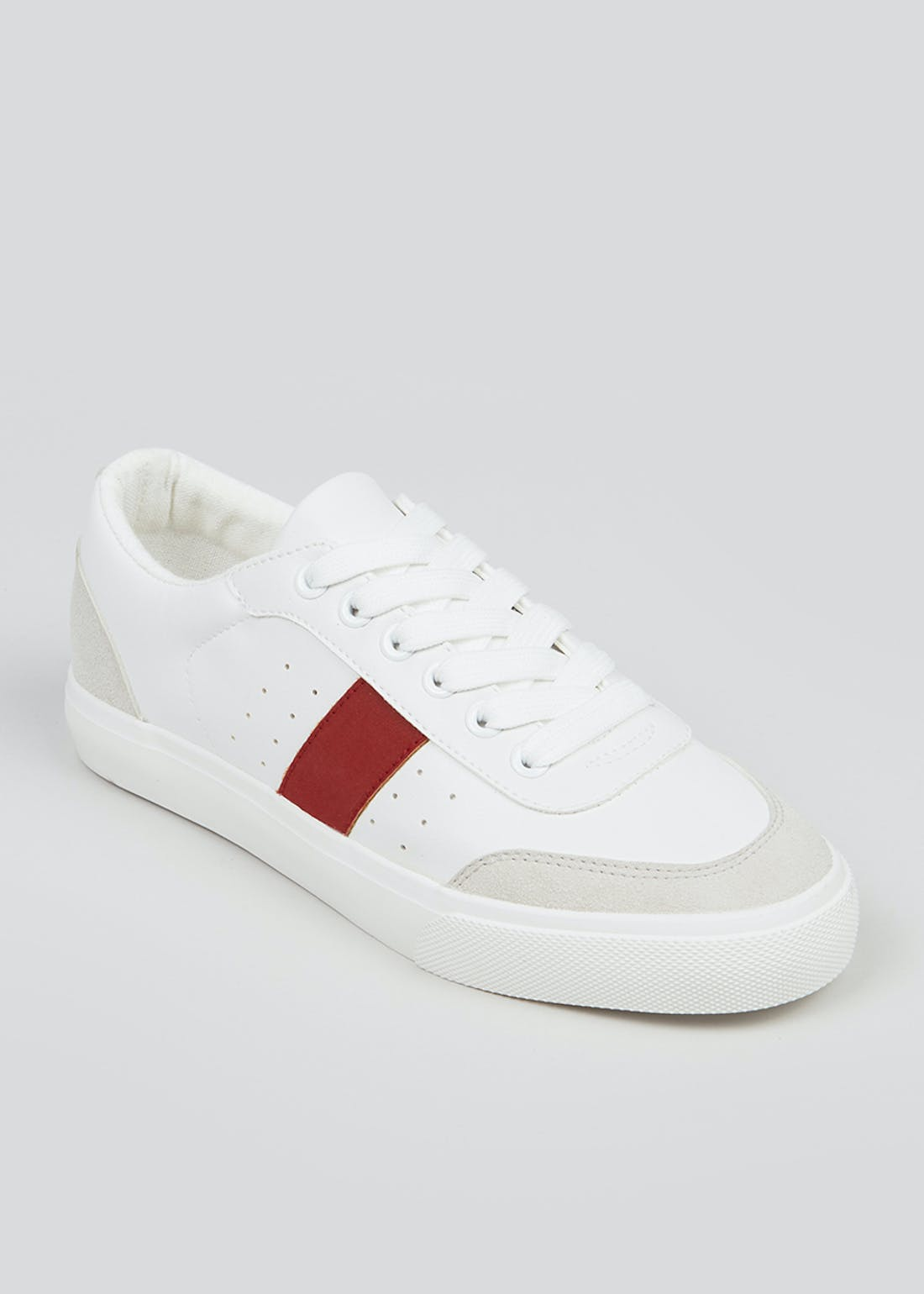 White Side Stripe Trainers