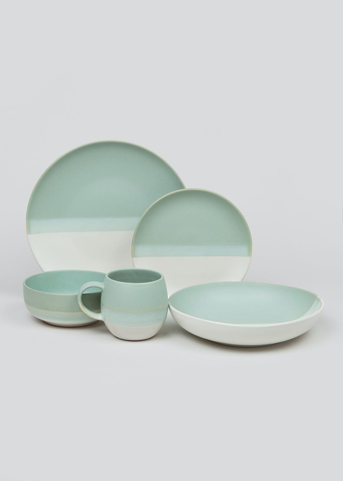 Dipped Ceramic Side Plate (20cm)