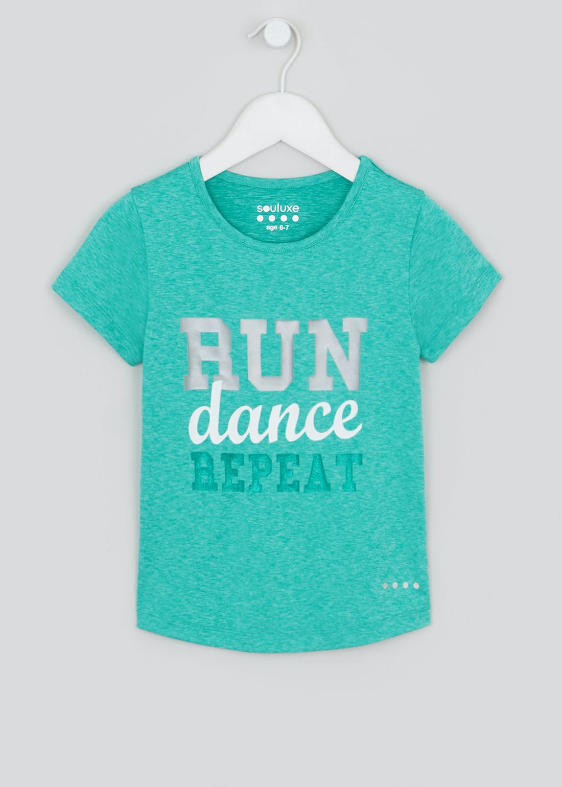 Girls Souluxe Run Dance Repeat Sports Top (4-13yrs)
