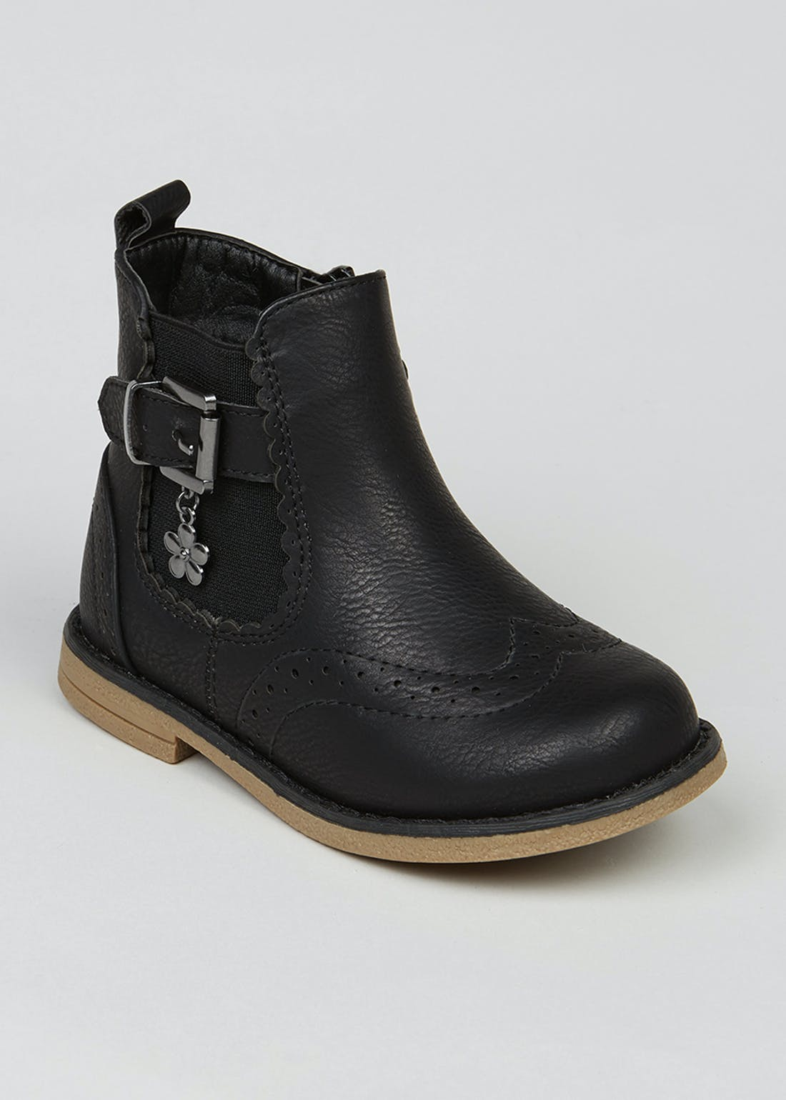 Girls Black Chelsea Boots (Younger 4-12)