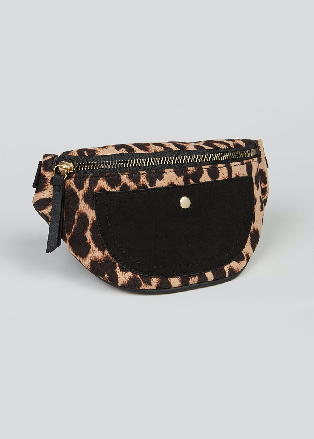 Girls Leopard Print Bum Bag