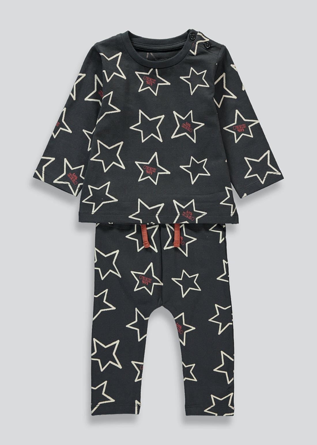 Boys Star Print Top & Leggings Set (Newborn-23mths)