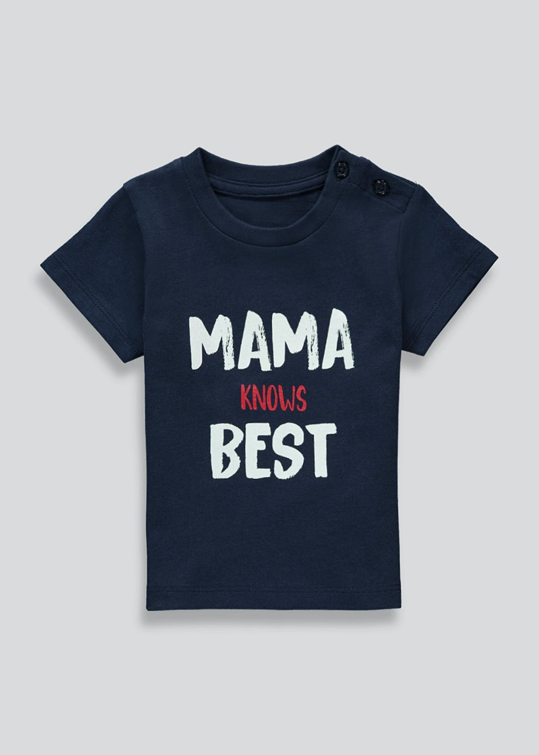 Unisex Mama Knows Best T-Shirt (Newborn-23mths)