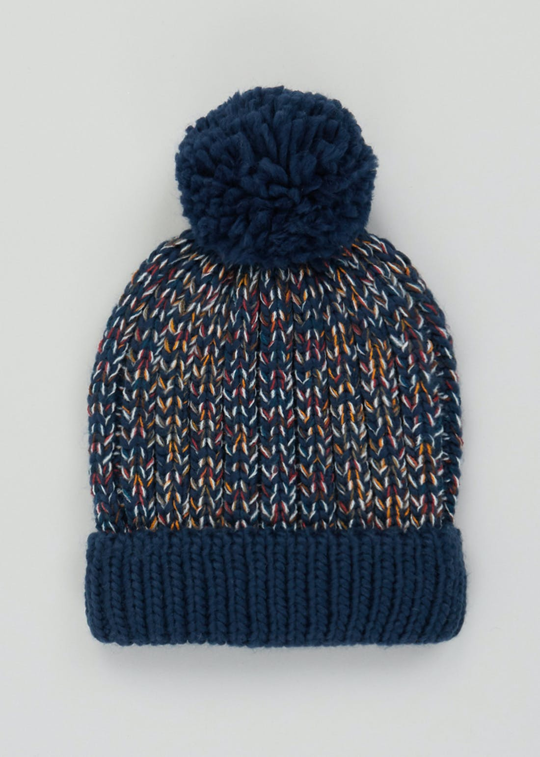 Boys Knitted Bobble Hat (3-6yrs)