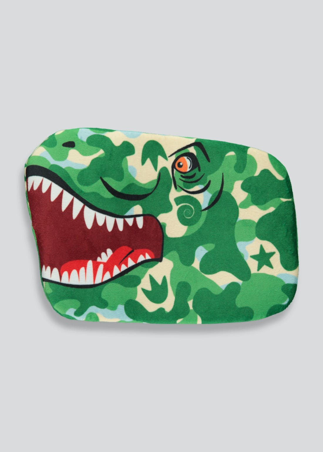 Kids Dinosaur Hot Water Bottle (30cm x 21cm)