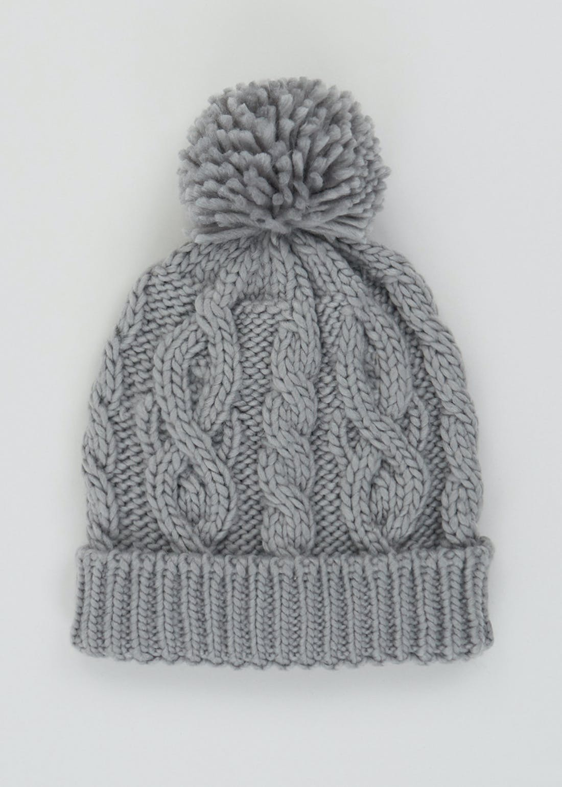 Boys Knitted Bobble Hat (7-13yrs)