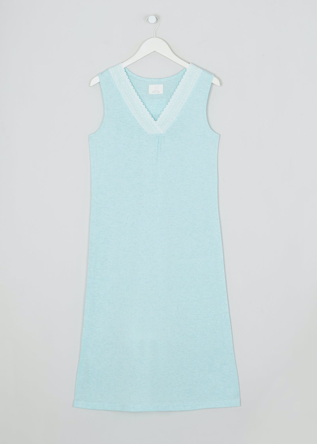 Lace Trim Cotton Modal Nightie