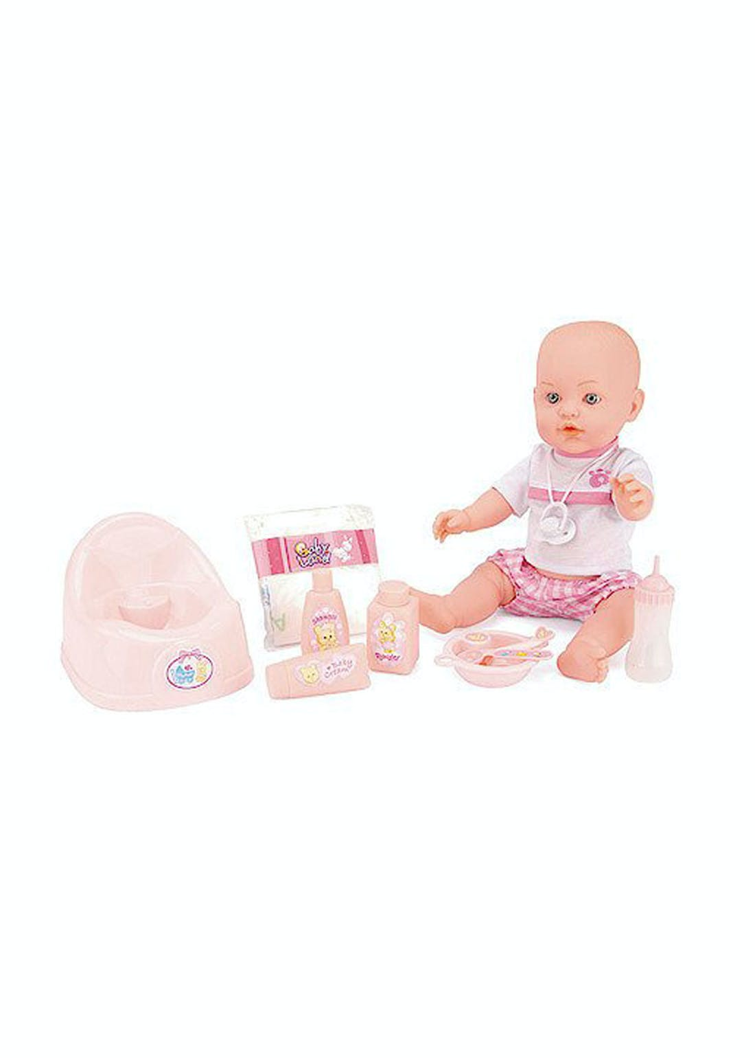 Baby Snuggles Drink and Wet Doll (41cm x 17.5cm x 10cm)